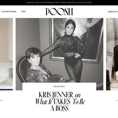Welche Chance Kourtney Kardashians Wellness-Website Poosh für Indie-Beauty-Labels bietet