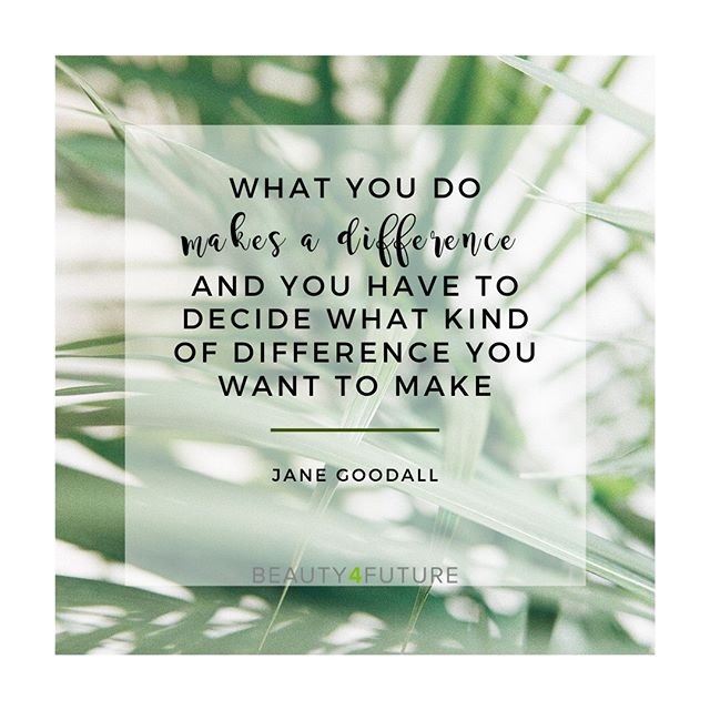 What you do makes a difference ans you have to decide what kind of difference you want to make.