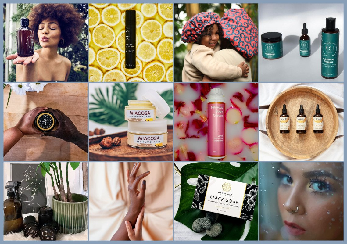 20+ BIPOC-owned Indie Beauty Businesses aus DACH