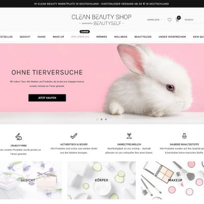 Beautyself launcht neue digitale Beauty-Destination Cleanbeautyshop.com